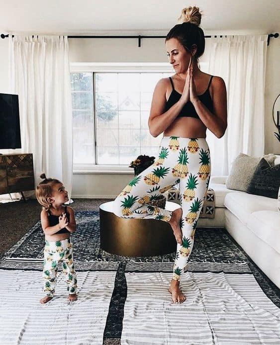 Anne Kız Kombinleri