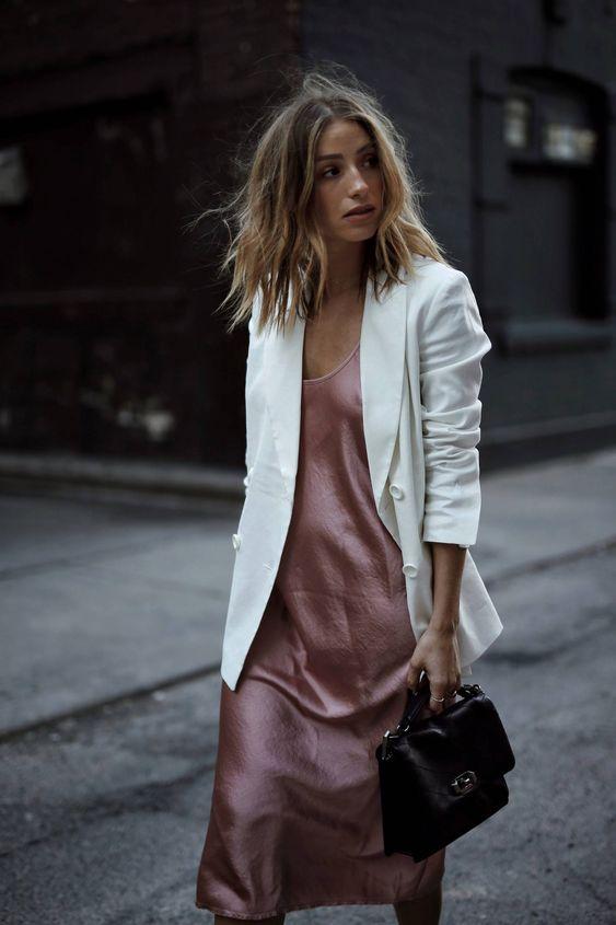 Beyaz Ceket Kombinleri