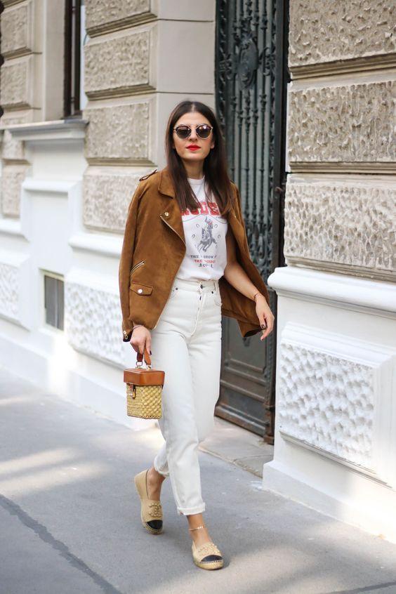 Beyaz Pantolon Kombin Önerileri