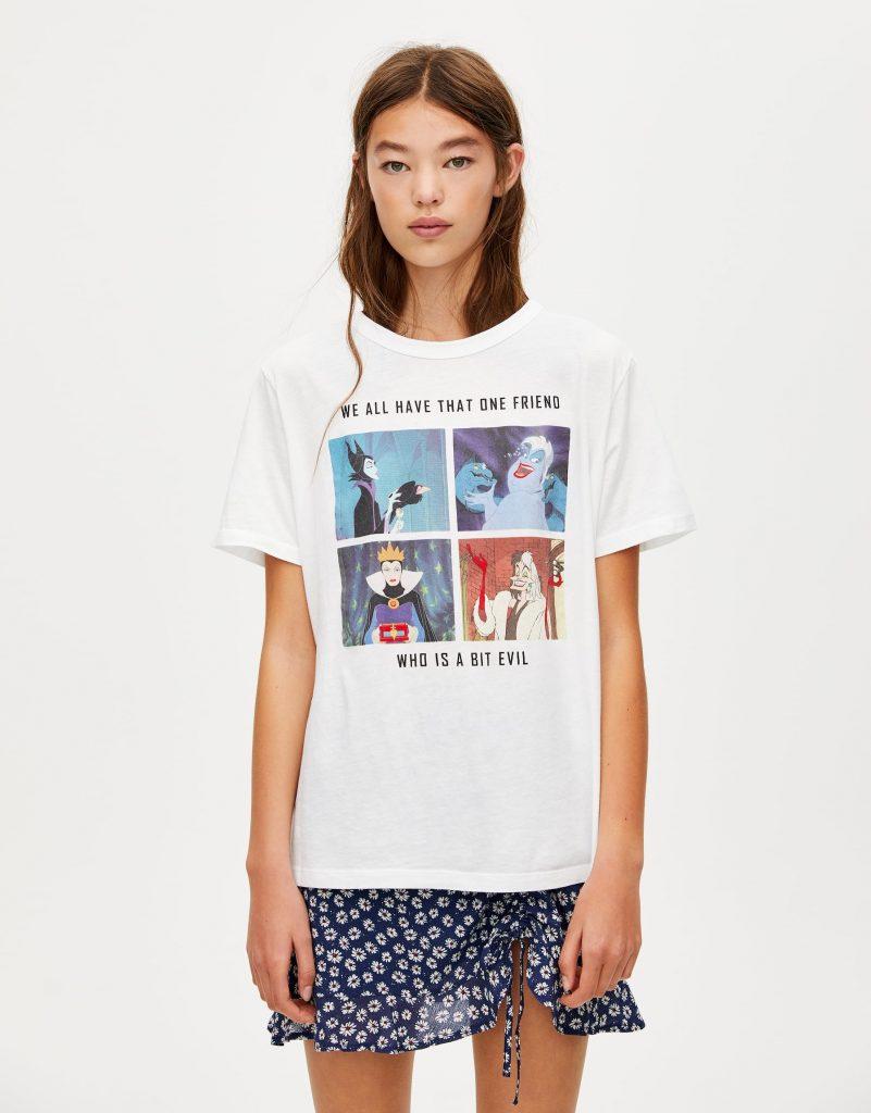Çizgi Film Karakterli T-shirt Modası