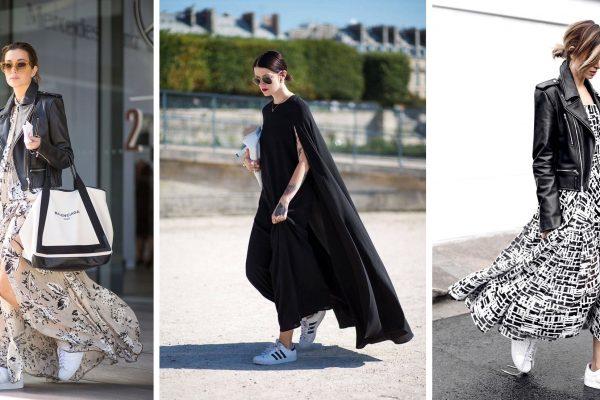 Elbise ile Sneaker Kombini Nasıl Yapılır?