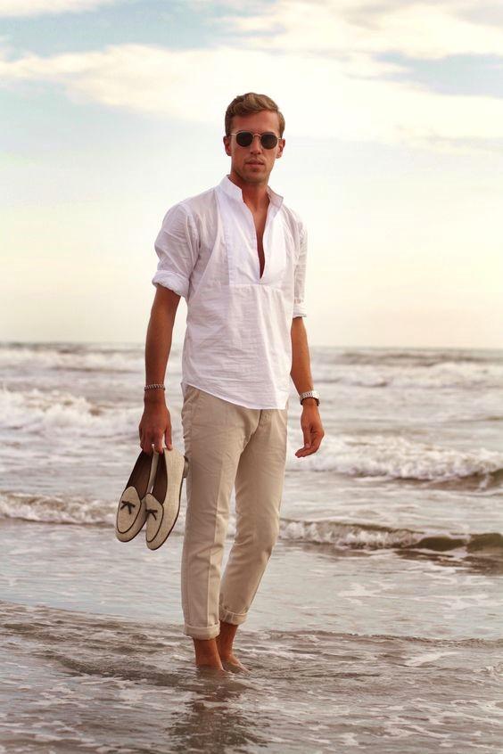 Erkekler için Plaj Modası