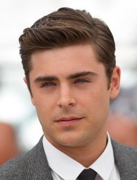 Erkeklerin Klasiği: Islak Görünümlü Saç Modeli