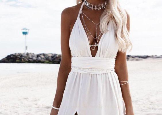 Plajda Kumsalda Giyebileceğiniz Elbise Modelleri
