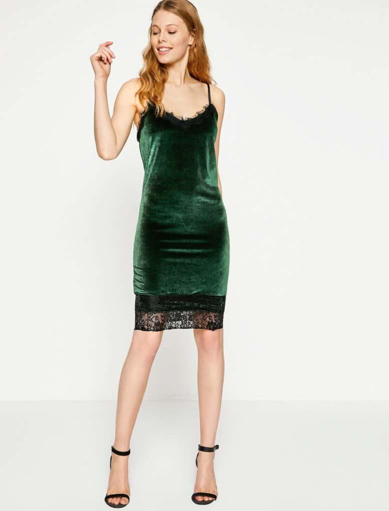 Rüyada Yeşil Elbise
