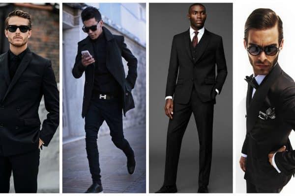 Siyah Giyen Erkekler